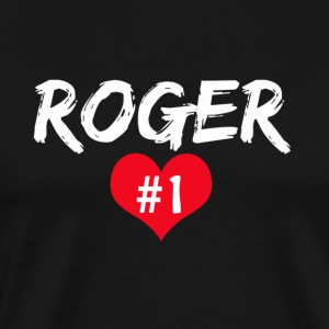 Roger number 1 T-Shirts - Men's Premium T-Shirt