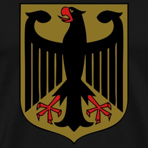 Imperial Eagle of Germany / Deutscher Reichsadler T-Shirts - Men's Premium T-Shirt
