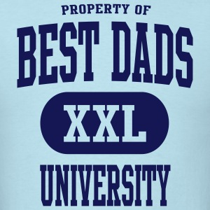 Best Dads University T-Shirt NS - Men's T-Shirt