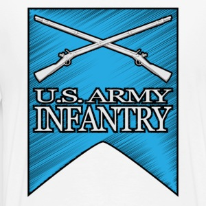Infantry 2nd ID - Men's Premium T-Shirt