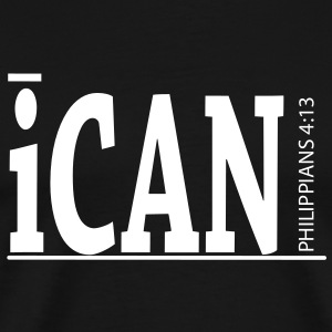 iCan Heavyweight Tee - Men's Premium T-Shirt