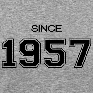 Birthday gift  1957 T-Shirts - Men's Premium T-Shirt