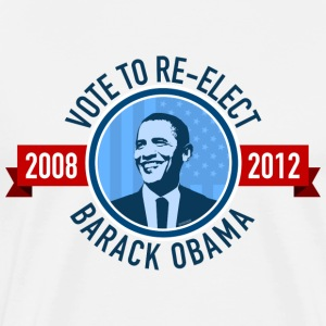 Vote to Re-elect Barack Obama - Men's Premium T-Shirt