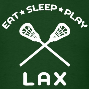 Eat, Sleep, Play Lacrosse T-Shirts - Men's T-Shirt