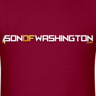 Design ~ Son of Washington Tee (Burgundy)