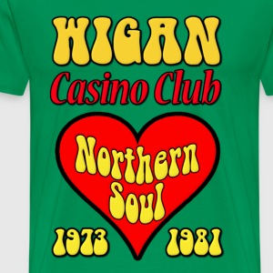 Northern Soul Wigan Casino Club T-Shirts - Men's Premium T-Shirt