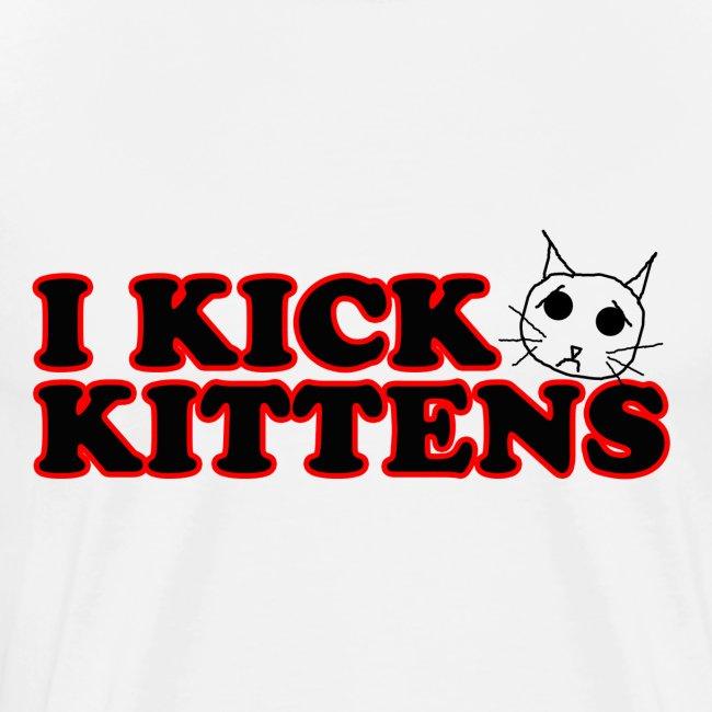 Olivia Dawn Kicks Kittens