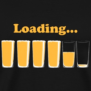 loading beer - Men's Premium T-Shirt
