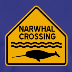 Narwhal Crossing T-Shirts