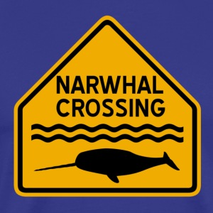 Narwhal Crossing T-Shirts - Men's Premium T-Shirt