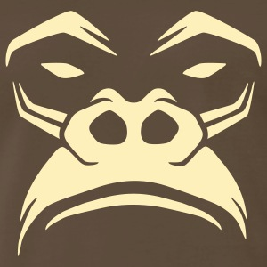 Gorilla, not very amused! T-Shirts - Men's Premium T-Shirt
