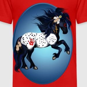 Appaloosa War Pony Oval - Toddler Premium T-Shirt