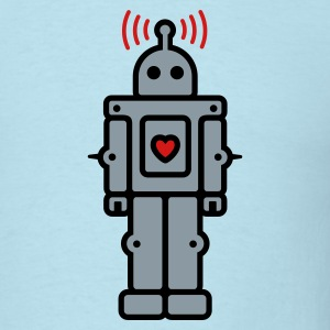 Love Robot T-Shirts - Men's T-Shirt