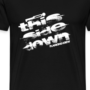 This side down - Planking Krew - Men's Premium T-Shirt