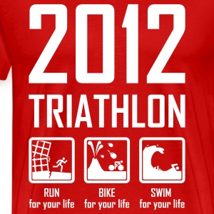 2012 Triathlon T-Shirts - Men's Premium T-Shirt