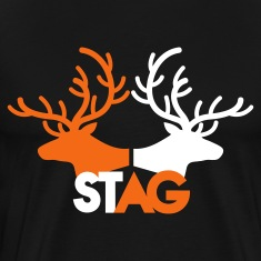 STAG double stag two reindeer  T-Shirts