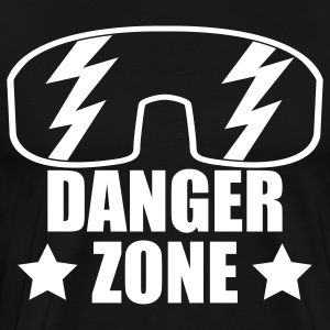 DANGERZONE 3X & 4X - Men's Premium T-Shirt