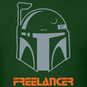Boba Fett was a Freelancer. - Men's T-Shirt