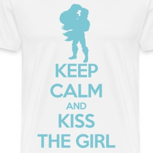Kiss the Girl T-Shirts - Men's Premium T-Shirt