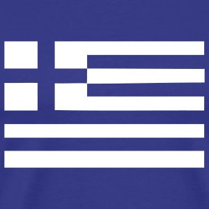 greek greece flag wedding T-Shirts - Men's Premium T-Shirt