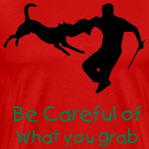 Careful What you Grab - Men's Premium T-Shirt