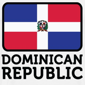 Flag Dominican Republic 2 (dd)++ T-Shirts - Men's Premium T-Shirt