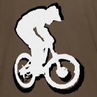 Design ~ Mountainbike T shirt - Ride on! Colored Tee