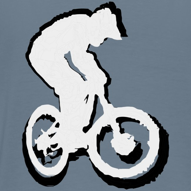 Mountainbike T shirt - Ride on! Colored Tee