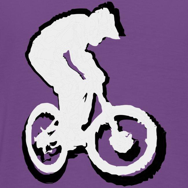 Mountainbike T shirt - Ride on! Colored Tee