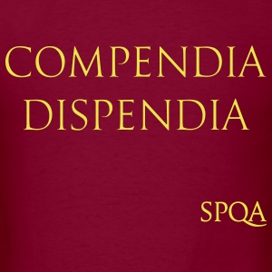 COMPENDIA DISPENDIA SPQA T-Shirts - Men's T-Shirt