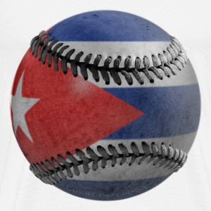 Cuban Baseball T-Shirts - Men's Premium T-Shirt