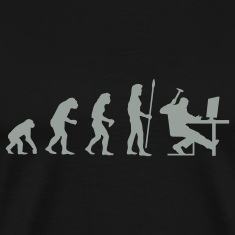 evolution_computer age T-Shirts