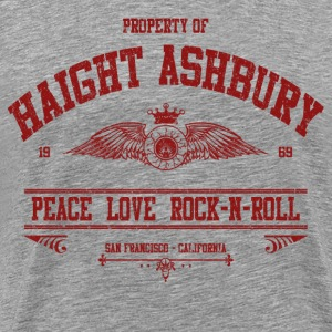 PROPERTY OF HAIGHT ASHBURY - Men's Premium T-Shirt