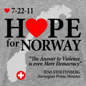 Hope for Norway T-Shirts - Men's Premium T-Shirt
