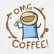 Design ~ OMG Coffee Heavyweight Tee
