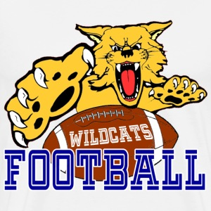 CENTRAL MOUNTAIN HIGH SCHOOL  WILDCATS FOOTBALL T-Shirts - Men's Premium T-Shirt