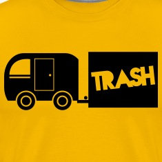 trailer trash towing cargo  T-Shirts