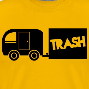 trailer trash towing cargo  T-Shirts - Men's Premium T-Shirt