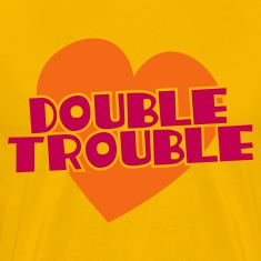 double trouble T-Shirts