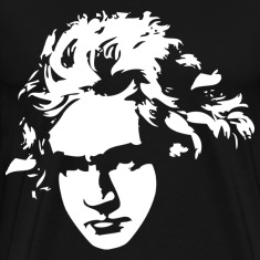 Beethoven Silhouette Music Gift T-Shirts