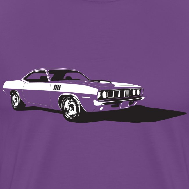 71 'Cuda Heavy T-Shirt | Men's Premium T-Shirt