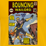 Design ~ Bouncing Wailord #14 Cover T-shirt