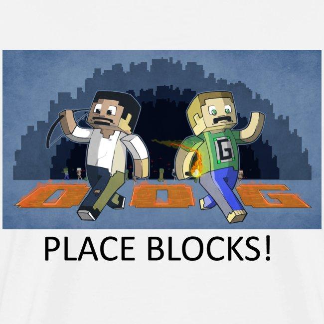 PLACE BLOCKS! - White Heavy Weight