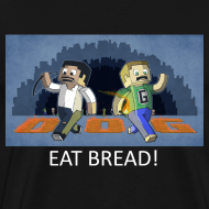 Design ~ EAT BREAD! - Black Heavy Weight