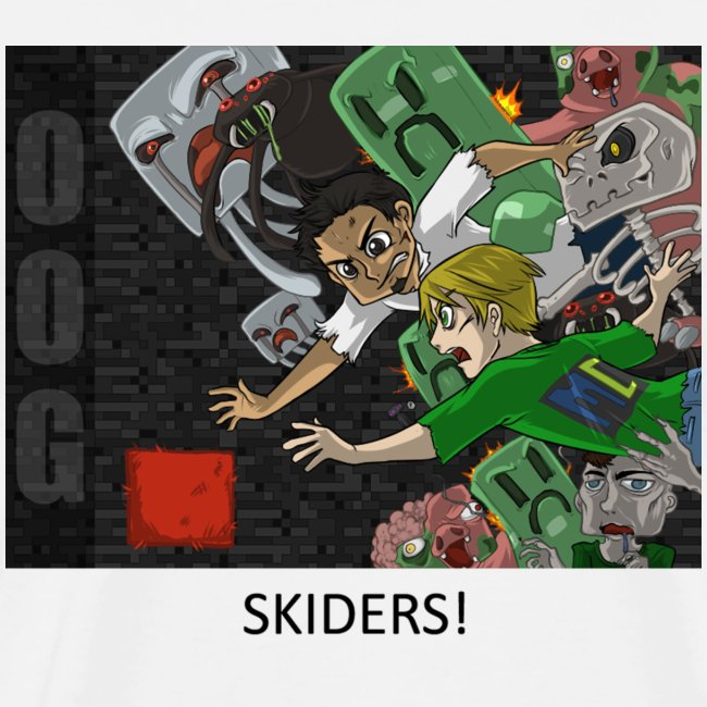 SKIDERS! - Anime White Heavy Weight