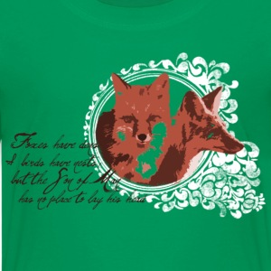 Foxes Have Dens Kids' Shirts - Kids' Premium T-Shirt