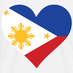 Heart Philippines (dd)++ T-Shirts - Men's Premium T-Shirt