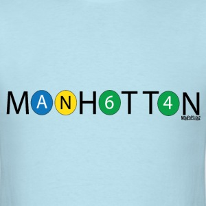 Manhattan Design1 T-Shirts - Men's T-Shirt