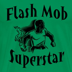 Flash Mob Superstar T-Shirts - Men's Premium T-Shirt