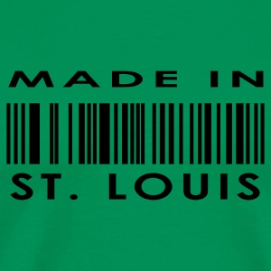 Made in St. Louis  T-Shirts - Men's Premium T-Shirt